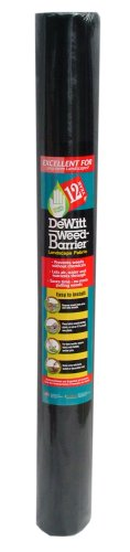 Weed Shield Garden - Dewitt 4-Foot by 50-Foot 12-Year Weed Barrier Fabric 12YR450