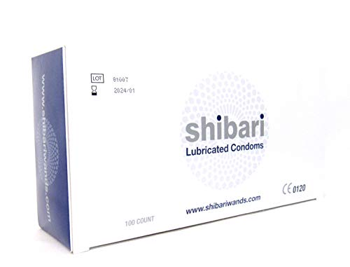 Shibari Premium Lubricated Latex Condoms, 144 Count Bulk Condoms