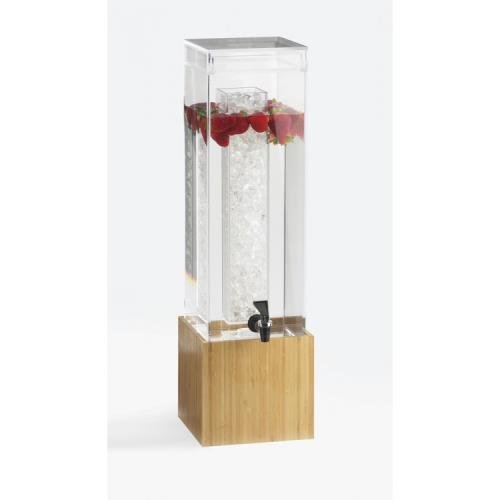 Cal-Mil 1527-1INF-60 Bamboo 1.5 Gallon Infusion Beverage Dispenser