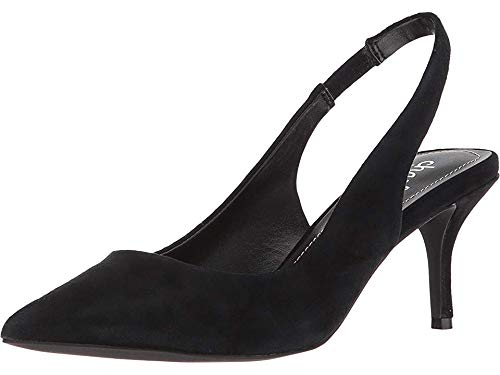 CHARLES BY CHARLES DAVID Women's Amy Slingback Pump Black Suede 5.5 M US