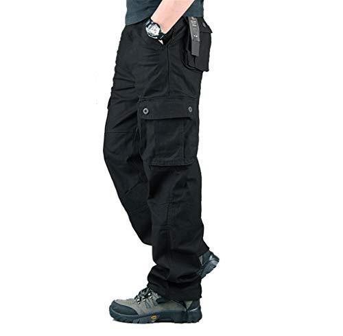 Hommes Pantalon Cargo Pantalon de Travail Style Militaire, Casual Pantalon Multi Poche Cargo Sports De Combat Pantalons… 1