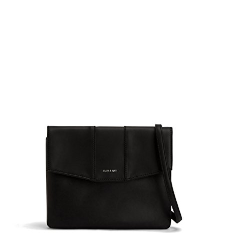 Matt & Nat Eeha Small Loom Crossbody Bag, Black by Matt & Nat