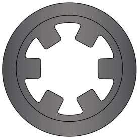 Pkg of 830 Spring Steel Stamped DTX-008 8mm Reinforced External Push-On Ring USA