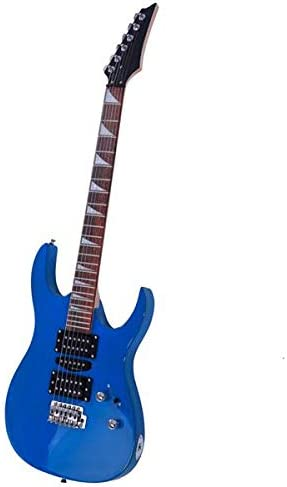 Guitarra eléctrica profesional azul con pastilla acústica HSH ...
