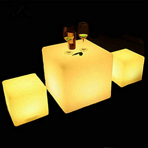 Lighted Outdoor Stool Table in US - 2