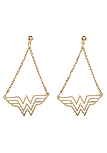 Wonder Woman DC Comics Dangle Earrings Standard