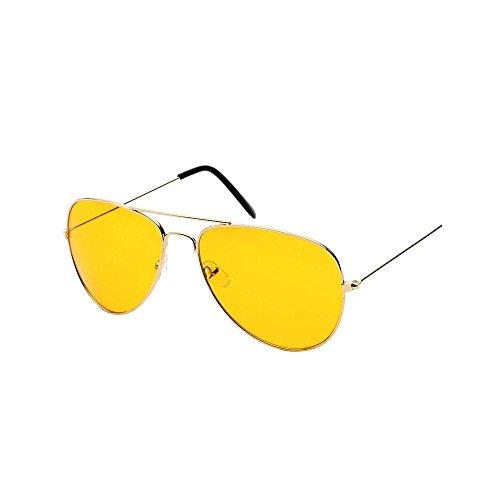 Men And Women Driving Glasses, Viasa Fashion Polo Night Vision Aviator Sunglasses - On Eyeglasses Try Online