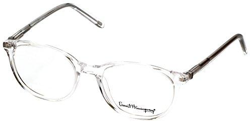 Ernest Hemingway Eyeglasses Collection 4677 in CRYSTAL Demo Lens