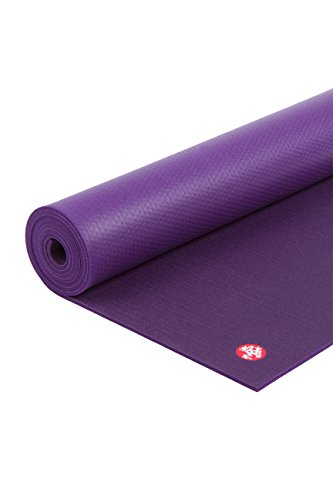 Manduka PRO Yoga and Pilates Mat, Black Magic, 85