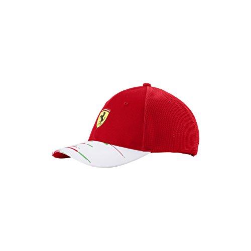 Ferrari Men's Team 2018 Cap (Kids Ferrari Cap)