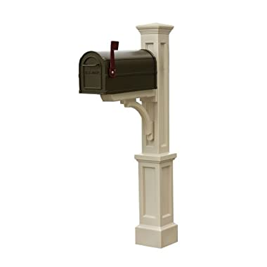Mayne 580B00100 Newport Plus Mail Post Only, Clay