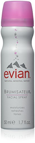 evian Facial Spray 6 Piece Mineral Water Facial Spray Set