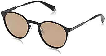 Polaroid PLD 4053/S LM 807 50 Gafas de sol, Negro (Black/Grey Goldmir Pz), Mujer