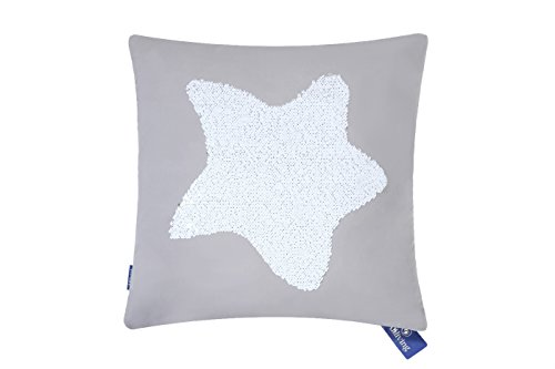 Cheap  Aitliving Reversible Sequins Pillow Cover Marine Star Throw Pillow Case 18X18 inch..