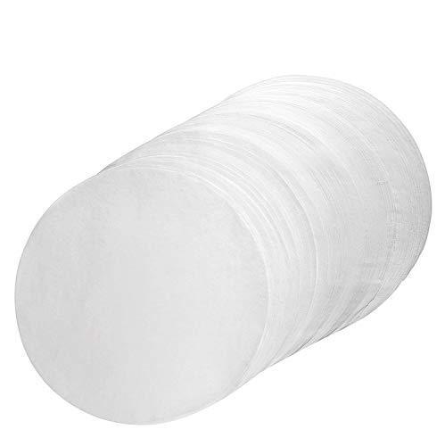 Parchment Paper Rounds 10 Inch Diameter - 100pcs Non-Stick 10'' Cake Pan Liner Circles, Precut for Cake Baking in Cheesecake Pan Springform Pan and Tart ()