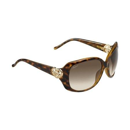 Gucci GG3548/S Sunglasses-05C0 Havana (CC Brown Gradient Lens)-61mm
