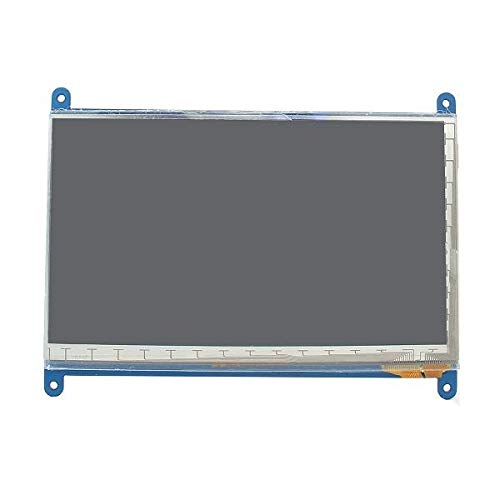 Anddoa 7 Inch 800 x 480 HD Capacitive IPS LCD Display 5 Point Touch Screen for Raspberry Pi 3 Model B / 2B / B+