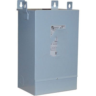 Hammond Power Solutions C1FC25LE, TRANSFORMER, DISTRIBUTION , ENCAPSULATED, 240/480V IN, 120/240V OUT, .25KVA ()