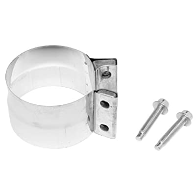 Dynomax 33226 Stainless Steel Hardware Clamp Band: Automotive