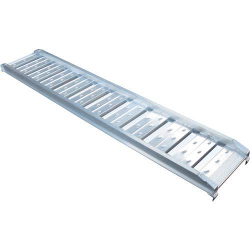 アルミブリッジ2本セット 長さ×有効幅:2120×300 耐荷重:1.2トン/61-7352-24 B003GGK316