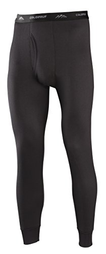 ColdPruf Men's Expedition Single Layer Bottom, Black, Small (Expedition Pant)