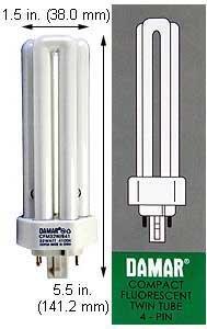 Compact Fluorescent Bulbs CFM32W/GX24Q-3/865/ECO (Case of 15)
