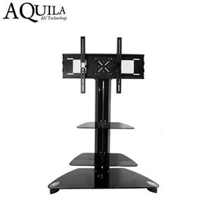 Aquila AB K111 Black Cantilever TV Stand Tall LCD Plasma Up To 50quot