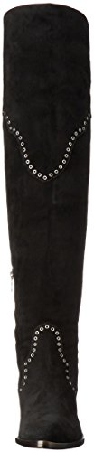 Frye Women's Ray Grommet OTK Slouch Boot, Black Black
