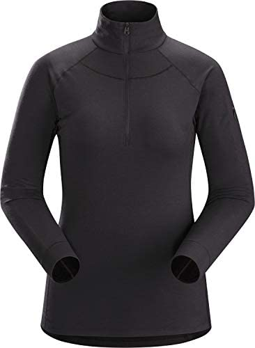 Arc'teryx Satoro AR Zip Neck Langarm Baselayer Damen dimma 2019 Unterwäsche
