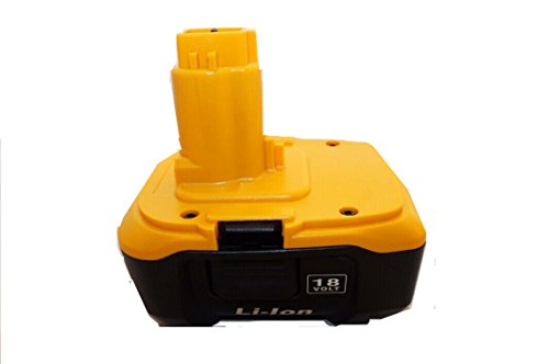 1 Pack New Rechargeable Lithium Li-ion Battery to Replace for Dewalt Dc9180 18v 3a Also Can Replace for Dc9096 Using Charger Dc9310 Cordless Tools Drills Battery Batteria -  CEM WORLD, DC91803A