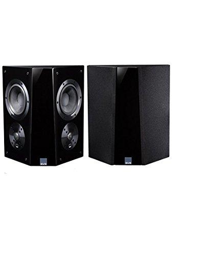 SVS Ultra Surround Speakers (Piano Gloss Pair), black,
