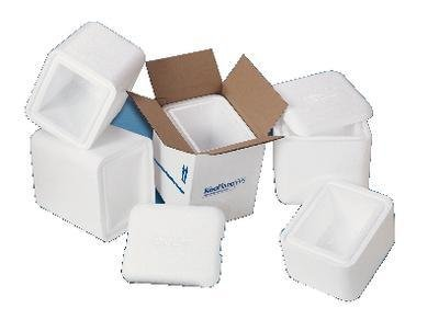 Insulated Corrugated Cartons - TL8612-SU-V - EPS Containers with Outer Corrugated Carton - KoolTemp Insulated Shippers, EPS Foam Shipping Coolers, Cold Chain Technologies - Each
