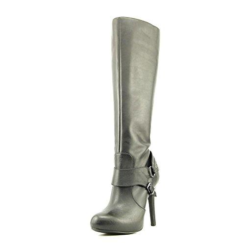 Jessica Simpson Avern, Fashion Stiefel Frauen, Geschlossener Zeh, Leder Schwarz