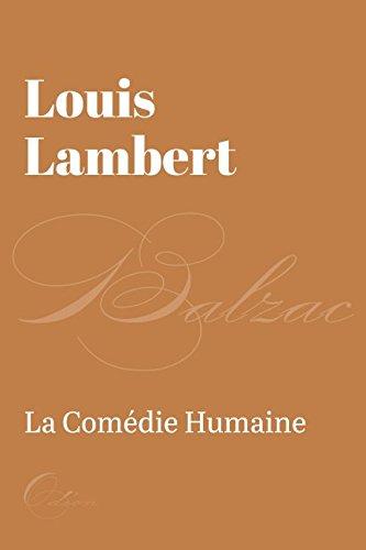 Louis Lambert  [Balzac, Honore de] (Tapa Blanda)