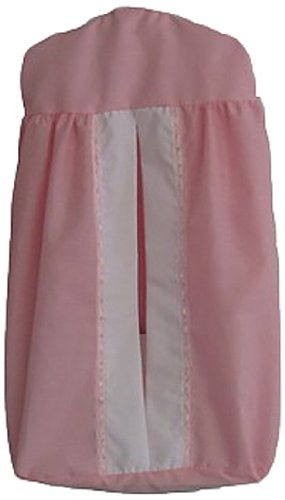 Baby Doll Bedding Regal Diaper Stacker, Pink