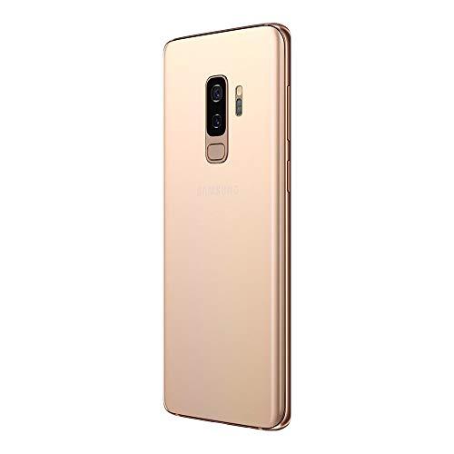 Samsung Galaxy S9+, 64GB, Sunrise Gold - Fully Unlocked (Renewed)