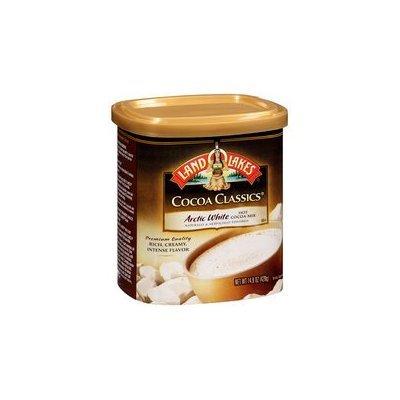Land O Lakes Cocoa Classics Arctic White Hot Cocoa Mix, 14.8 ounce (Pack of 6)