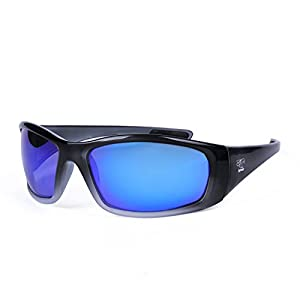 Polarized Floating Sunglasses - Ideal for rowing, SUP, dragon boat, OC canoe, boating, (Cool Grey Blue)