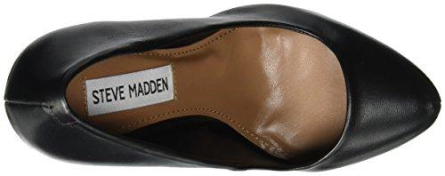 Steve Madden Dejavu Pump, Zapatos de Tacón para Mujer Negro (Black)