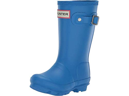 Hunter Kids Unisex Original Kids' Rain Boot (Toddler/Little Kid) Bucket Blue 8 M US Toddler]()