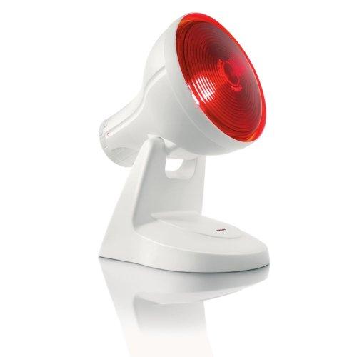 Philips HP3616/01 InfraPhil Infrarot-Lampe, kleine Bestrahlungsfläche, 150 Watt