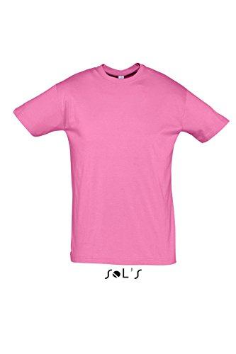 Sols - Regent - Unisex Rundhals T-Shirt , Orchid pink , XL