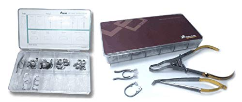 Vivid KwikFit Sectional Matrix System Kit with 3 Forceps by Pearson Dental