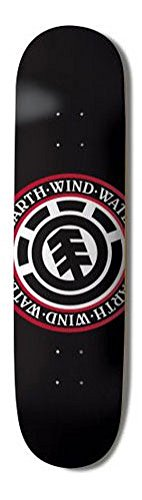 Seal Element (Element Skateboards Deck Team Seal Black 7.75