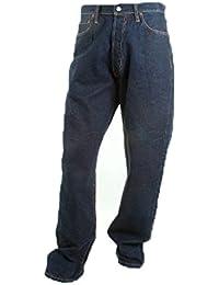 a027844a3d14 Insert Logo EA05MJE07 Washed Denim Jeans EVIS6785
