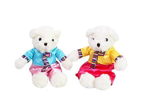 Amazon.com: Hanbok Teddy Bear Doll ing Korean ... on