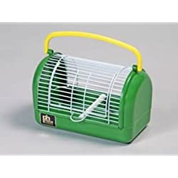 """Prevue Pet Travel Cage, 9 by 5 by 5"""", Green"""