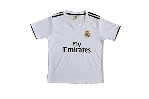 747078dd0 GamesDur 2018 2019 Real Madrid Bale  11 Home Football Soccer Kids Jersey    Short