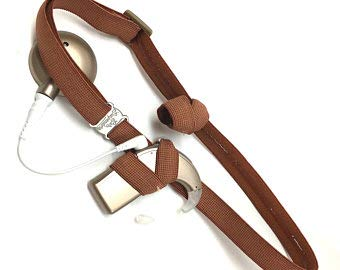 Ear Suspenders Cochlear Implant Headband (Brown, Child) (Kids Cochlear For Implants)