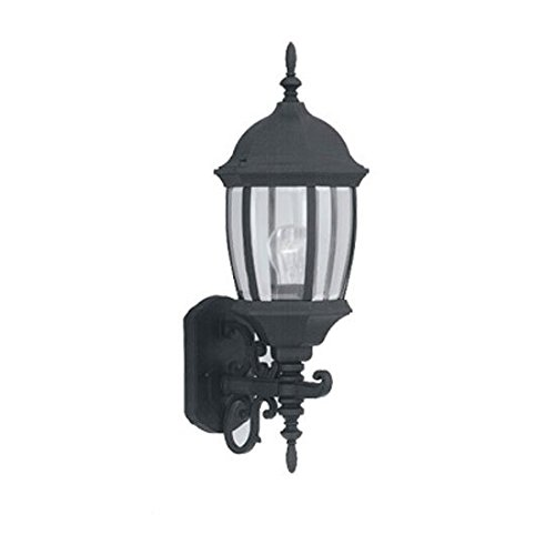 Designers Fountain 2422-BK Tiverton Wall Lanterns, Black Tiverton 1 Light Cast